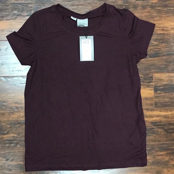 Vero Moda Tops - NWT Vero Moda Plum Shirt